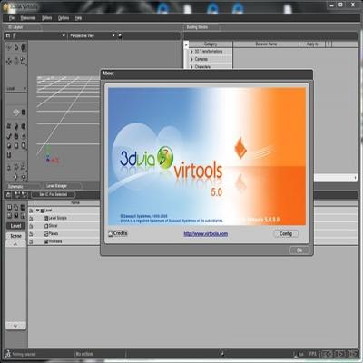 3DVIA Virtools 5.0虚拟现实开发平台
