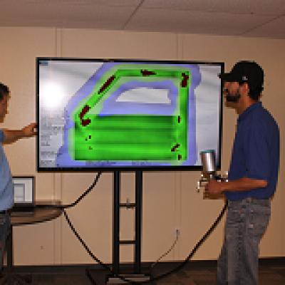 美国北爱荷华大学减废中心虚拟画室应用ART培训油漆工